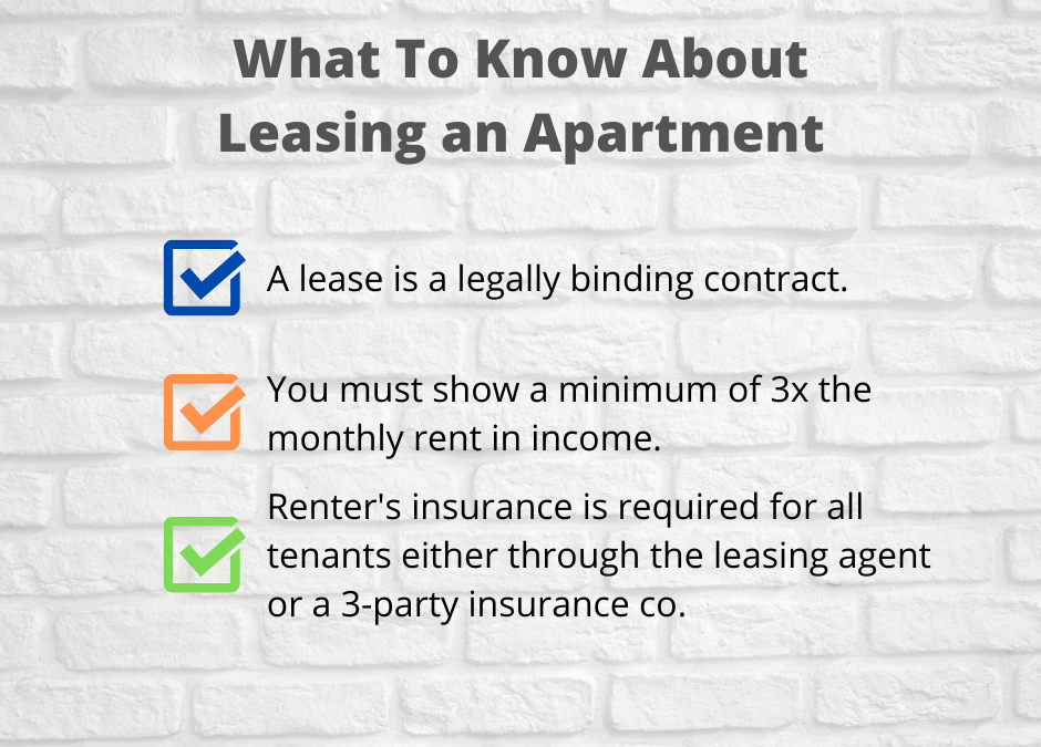 What To Know About Leasing an Apartment